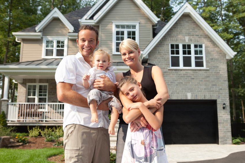 North Carolina family with home insurance